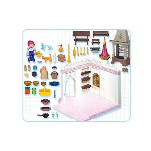 Playmobil royale køkken 4251 indhold