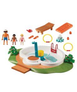 Playmobil svømmebassin 9422 indhold