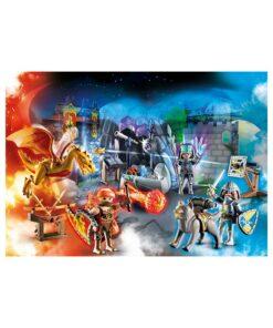 Playmobil julekalender 70187 kampen om den magiske sten billede