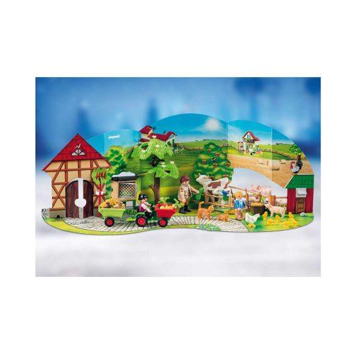 Playmobil 70189 julekalender kulisse