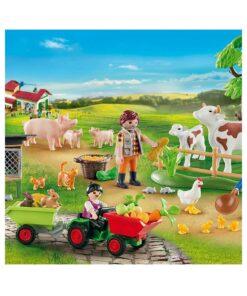 Playmobil 70189 julekalender på gården billede