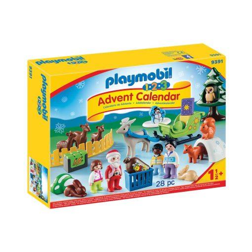 Playmobil jul i dyrenes skov 9391
