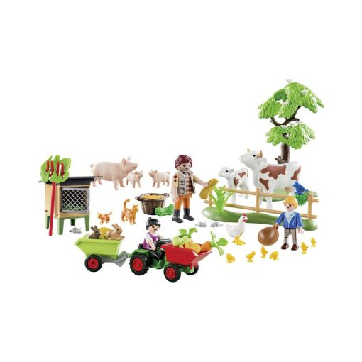 Playmobil 70189 julekalender indhold hvid baggrund