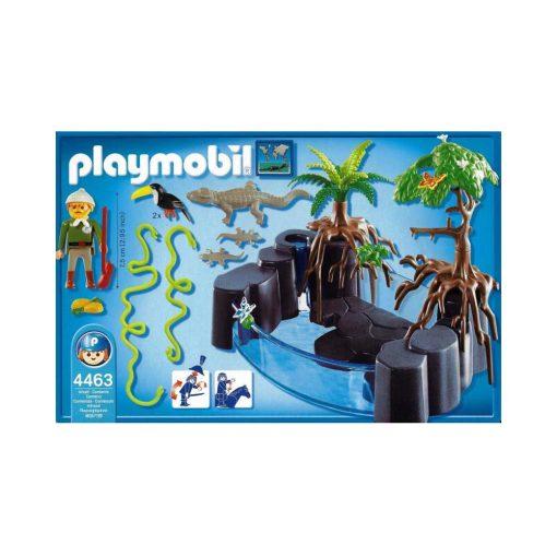 Se Playmobil krokodille bassin indhold