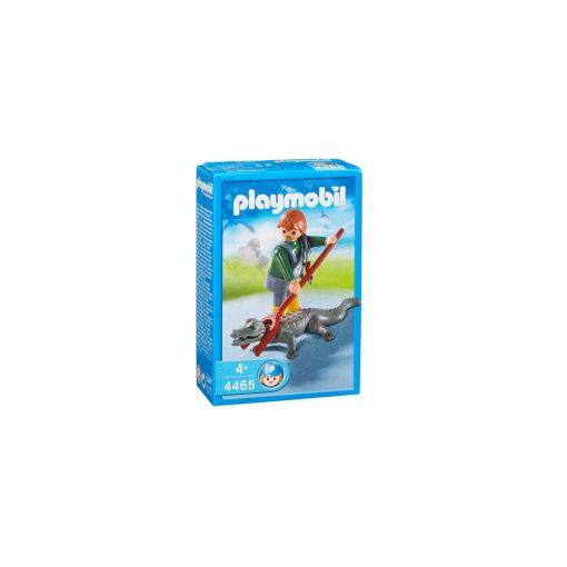 Playmobil dyrepasser med krokodille 4465