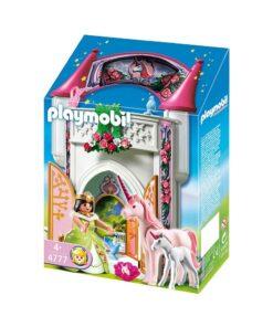 Playmobil enhjørning prinsesse 4777 tag-med kasse