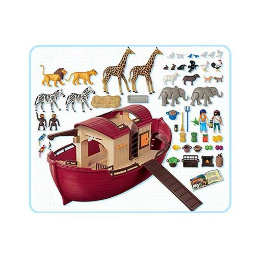 Playmobil Noas ark indhold