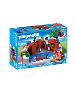 Playmobil pingviner zoo 4462 æske