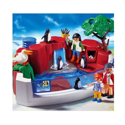 Playmobil pingviner zoo billede
