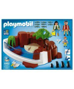 Playmobil pingviner bagside