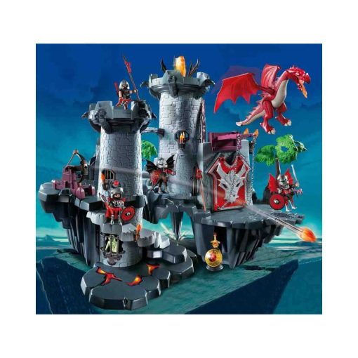 Playmobil 4835 Stort drageslot illustration