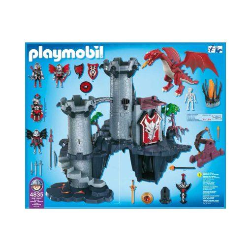 Playmobil 4835 Stort drageslot indhold