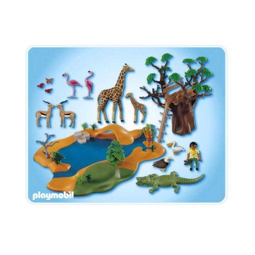 Playmobil safari dyrereservat 4827 indhold