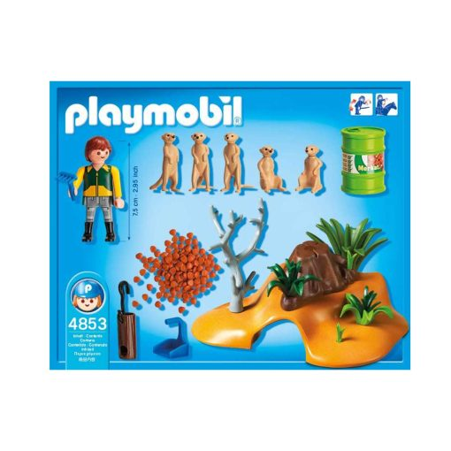 Playmobil surikat familie 4853 indhold