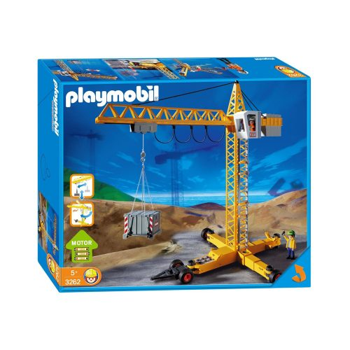 Stor Playmobil kran 3262
