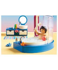 Playmobil dukkehus badeværelse med badekar 70211 badekar