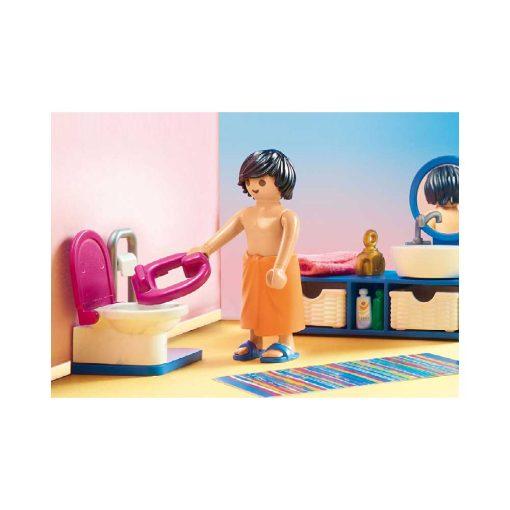 Playmobil dukkehus badeværelse med badekar 70211 toilet