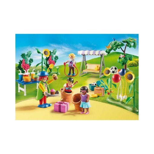 Playmobil dukkehus børnefødselsdag 70212 opstilling