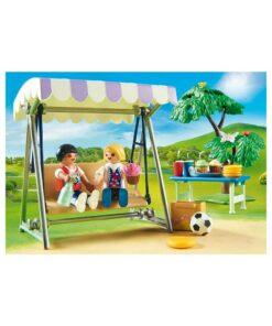 Playmobil dukkehus børnefødselsdag 70212 sofagynge