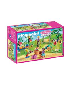 Playmobil dukkehus børnefødselsdag 70212 kasse