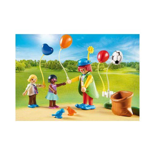 Playmobil dukkehus børnefødselsdag 70212 klovn og balloner