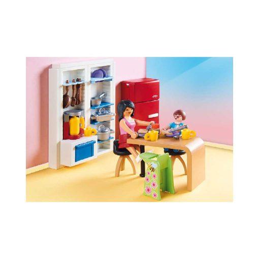 Playmobil dukkehus køkken 70206