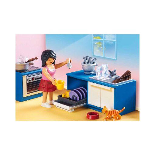 Playmobil dukkehus køkken 70206 opvaskemaskine
