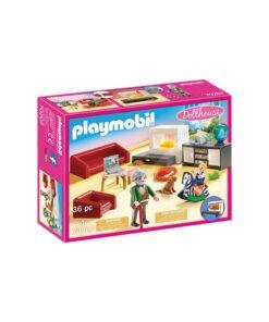 Playmobil dukkehus hyggelig stue 70207 kasse