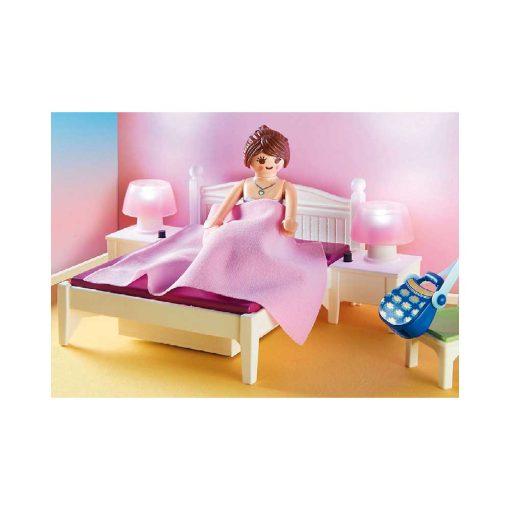 Playmobil dukkehus soveværelse med systue 70208 seng