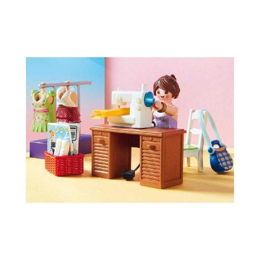 Playmobil dukkehus soveværelse med systue 70208 symaskine