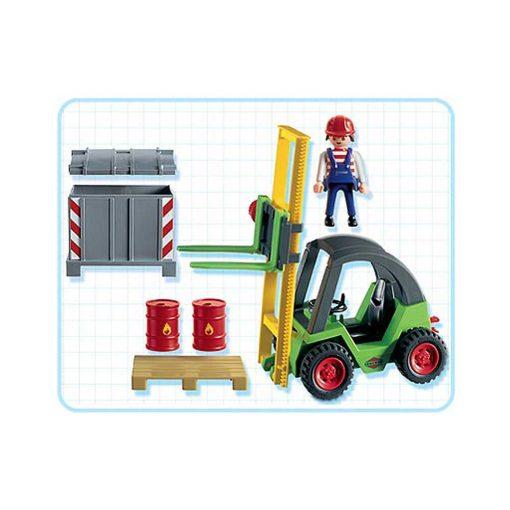 Playmobil gaffeltruck 3003 indhold