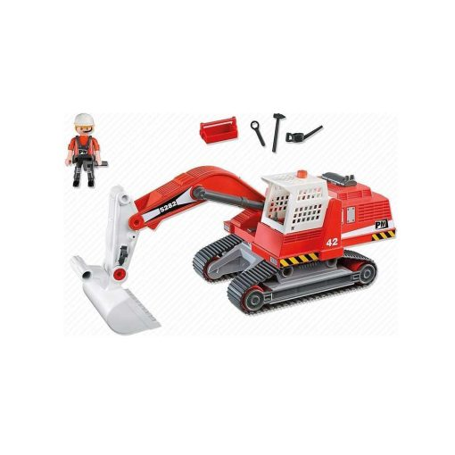 Playmobil gravemaskine 5282 indhold