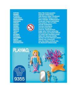 Playmobil havfrue med spejl 9355 bagside