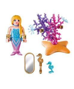 Playmobil havfrue med spejl 9355 indhold