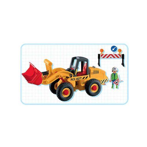 Playmobil hjullæsser 3934 indhold