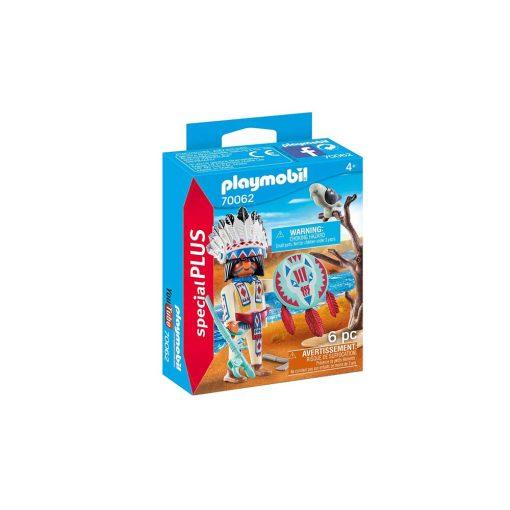 Playmobil indianer høvding 70062