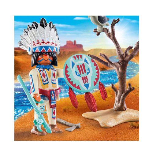 Playmobil indianer høvding 70062 billede