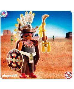 Playmobil indianer medicinmand 4749 billede