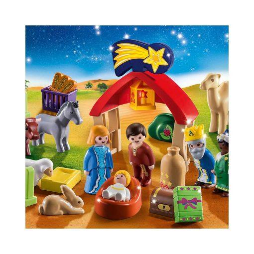 Playmobil julekalender 70259 krybbelspil billede