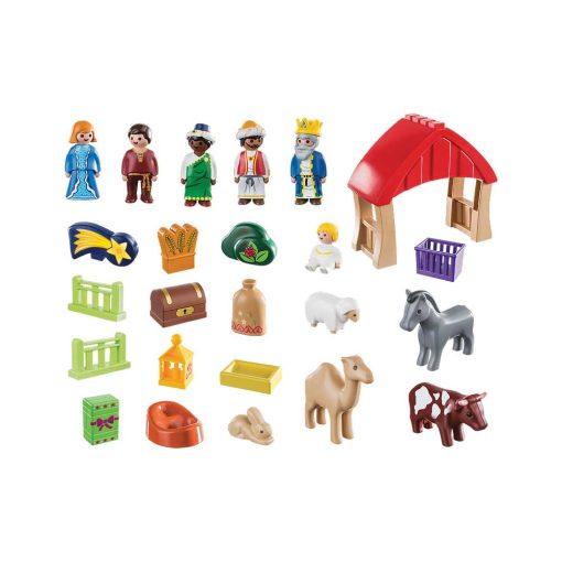 Playmobil julekalender 70259 krybbelspil indhold