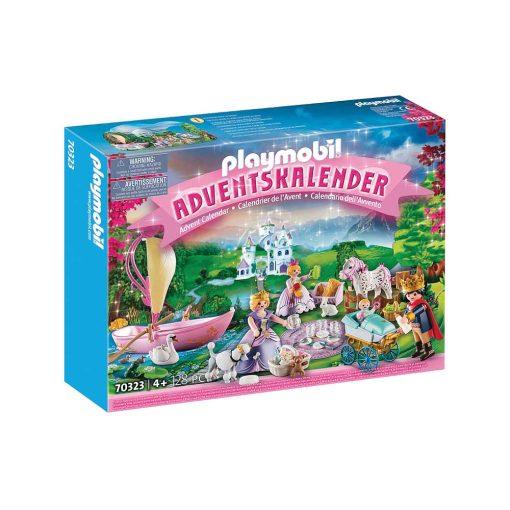 Playmobil julekalender 70323 royal picnic kasse