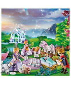 Playmobil julekalender 70323 royal picnic billede