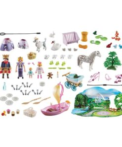 Playmobil julekalender 70323 royal picnic indhold