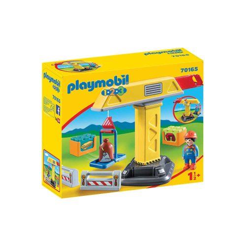 Playmobil kran 70165 kasse