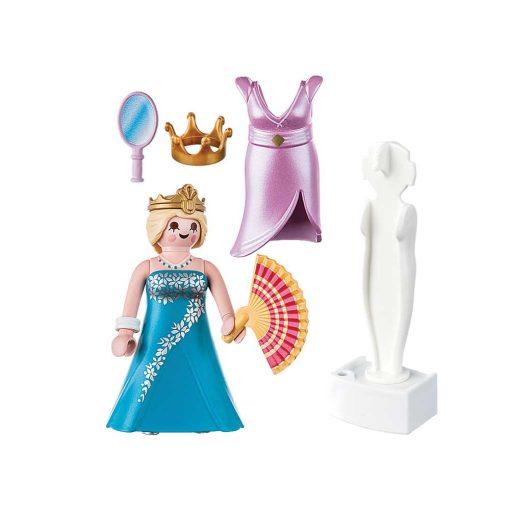 Playmobil prinsesse med mannequin 70153 indhold