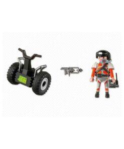 Playmobil Top Agent på Segway 5296 indhold