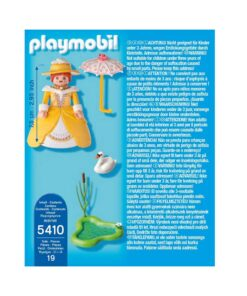 viktoriansk Playmobil kvinde 5410 bagside
