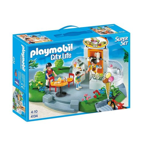 Playmobil iskiosk super æske 4134