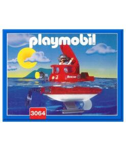 vintage Playmobil ubåd 3064