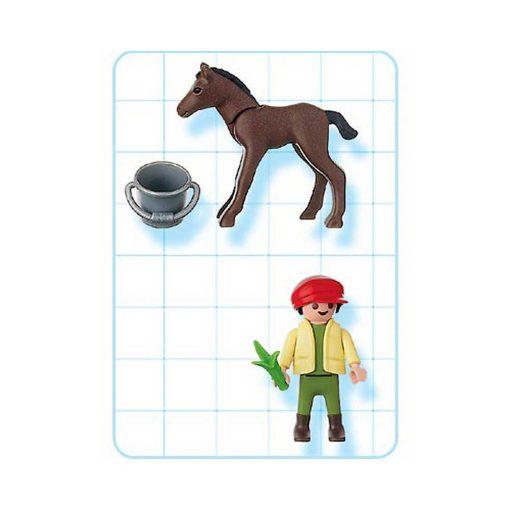 Playmobil dreng med føl 4647 indhold